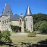 Entrée du gîte attenant au Château de Sérigny en Vendée